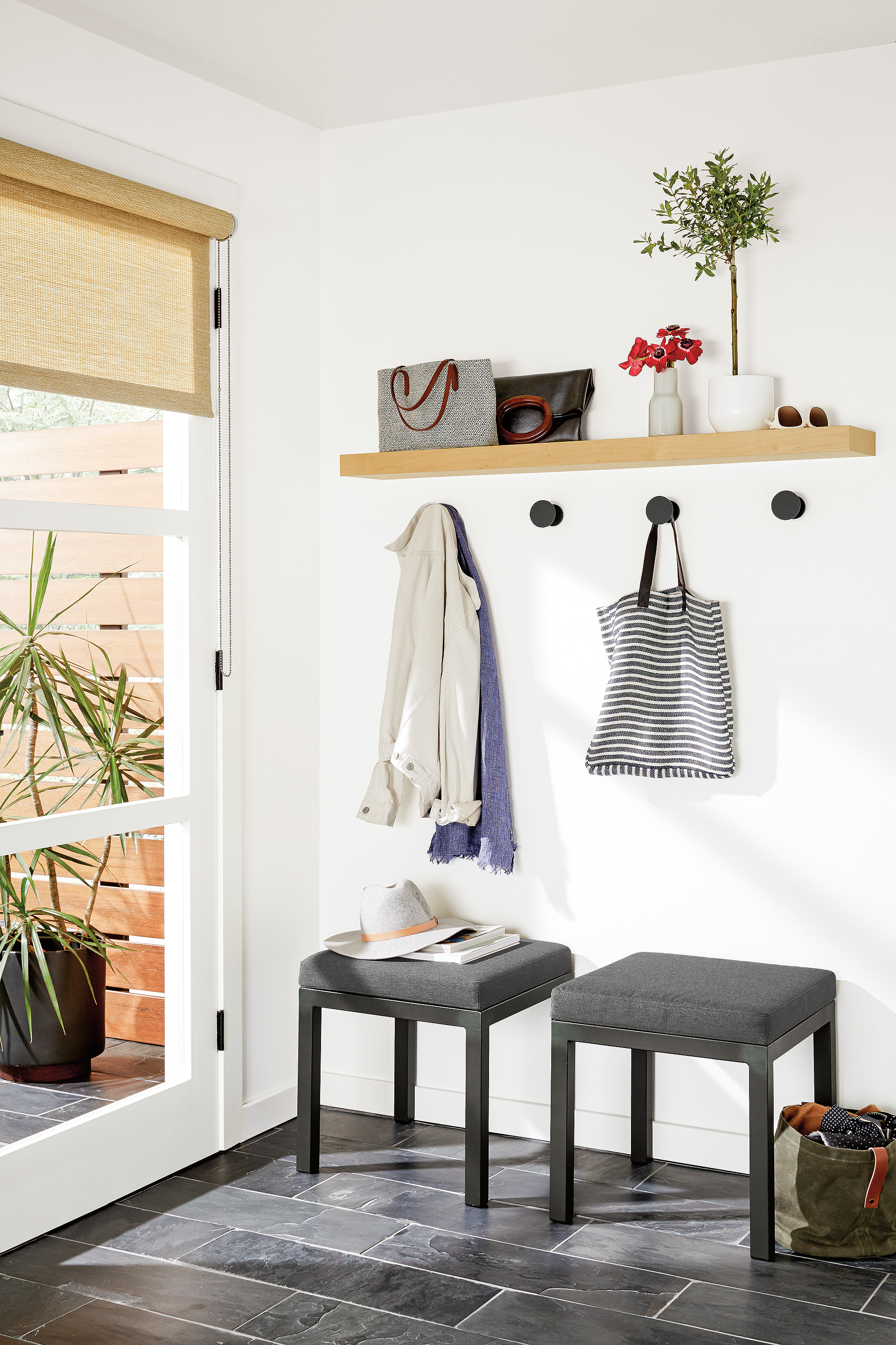 How To: 5 Tips for Organizing Your Entryway - Room & Board
