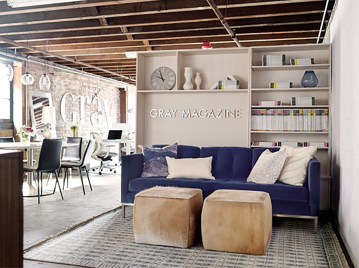 Modern design office Rustic Gray Magazines Modern Glam Office Houzz Gray Magazines Modern Glam Office Room Board