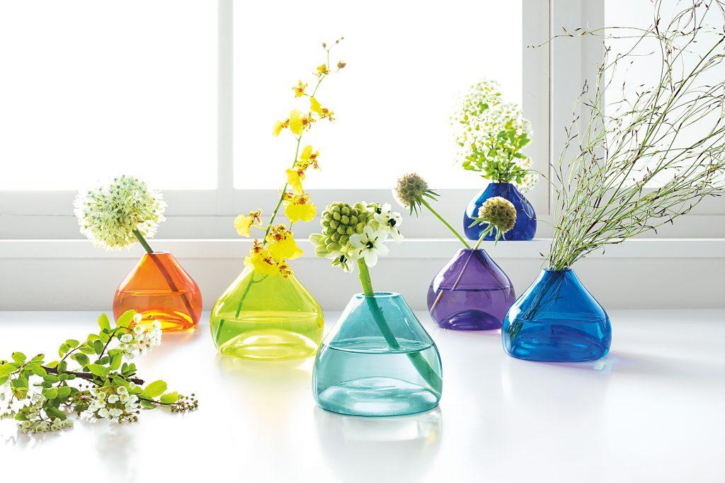 Jewel decorative vases