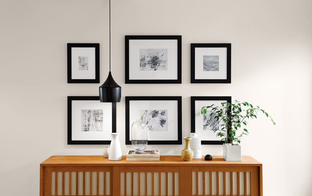 How to Finish Your Home with Frames - Room & Board