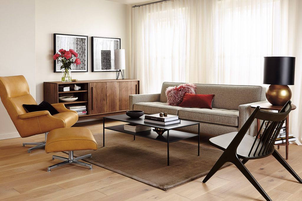 Reese sofa with Beau chair