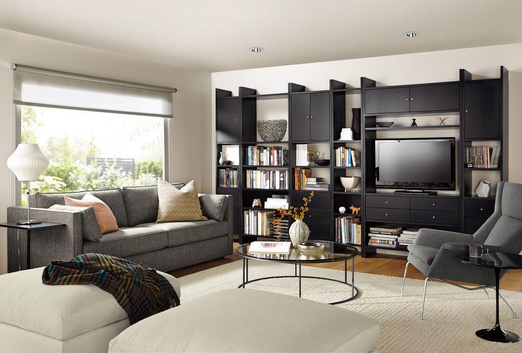 Addison media storage with Tyne coffee table