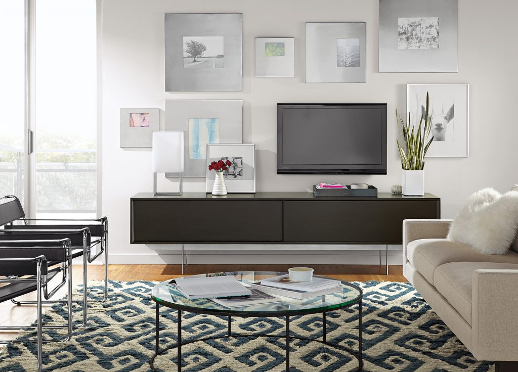 Smith media cabinet with Tyne coffee table