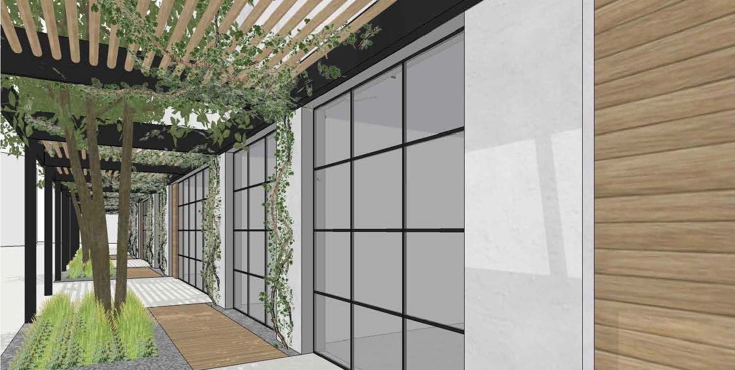 San Diego store rendering outside