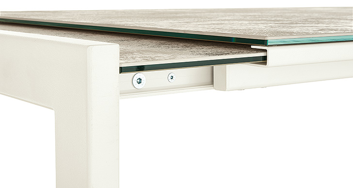 Extension table functionality on Room & Board Opla table