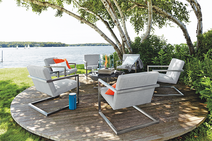 Finn outdoor lounge chairs
