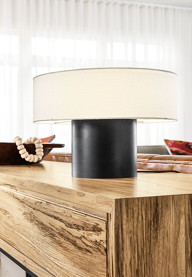 Contemporary lighting: Clement table lamp