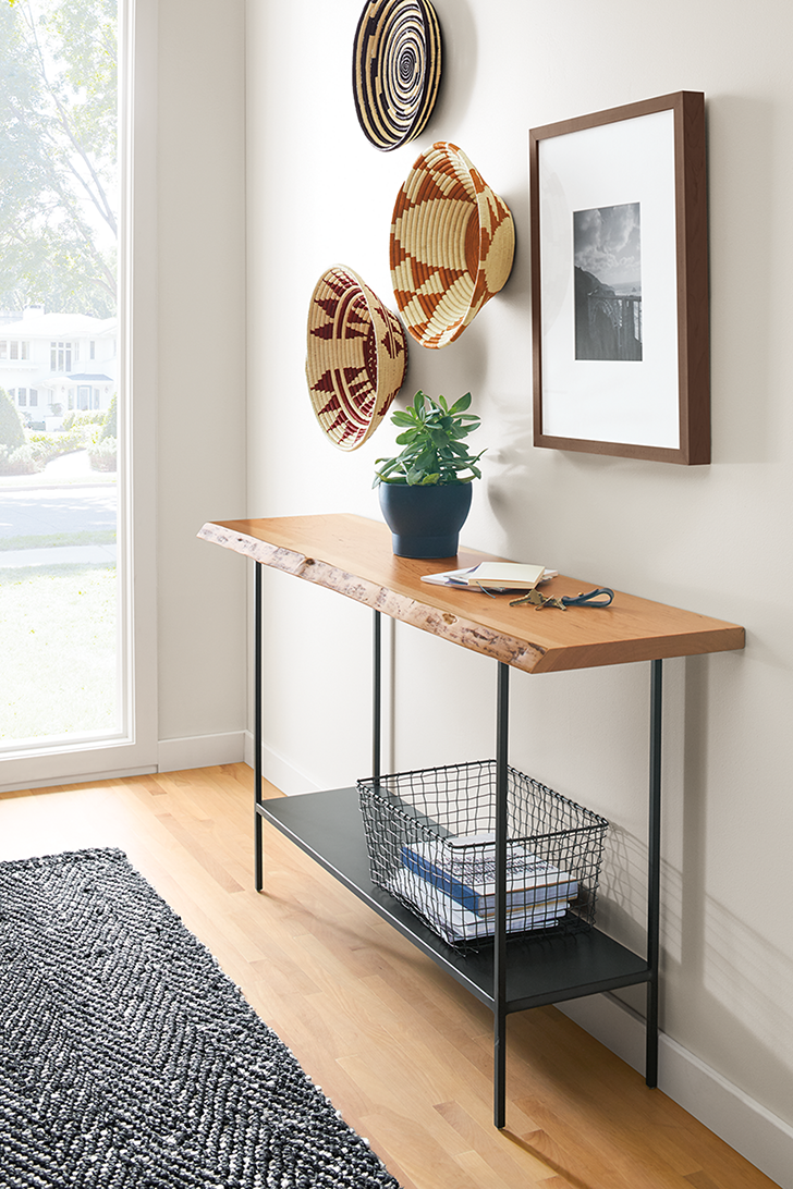 Chilton console table in entryway
