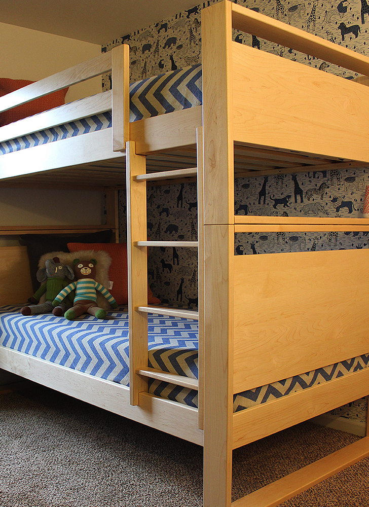 Dayton bunk bed for a kid's shared space