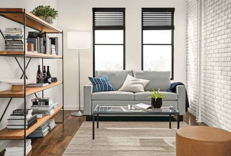 sleeper sofa that fits in a small space living room