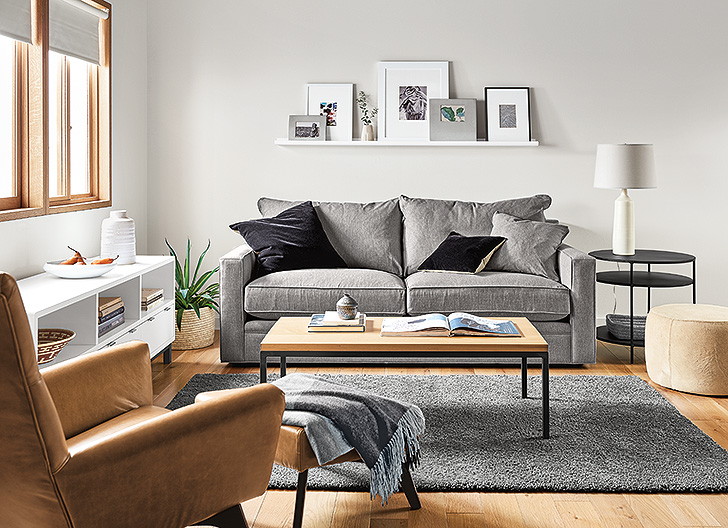 Modern small space living room