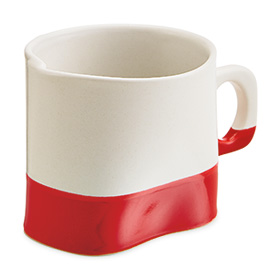 Limited Edition Cumberland mug in red