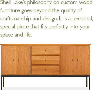 Shell lake woodcrafters vendor story shell lake Room and board furniture quality