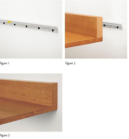 Interlock Mounting Bracket Shelf And Wall Figures 2 3