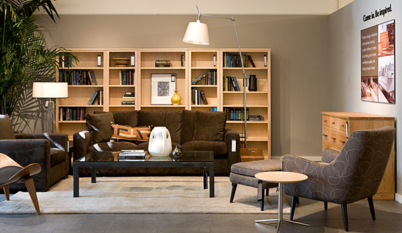 Furniture store at the galleria Room and board furniture quality