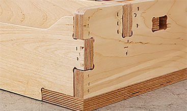 Reinforced joinery