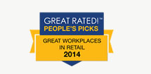 Great Rated - Great Places in Retail 2014