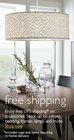 Free shipping on most accessories