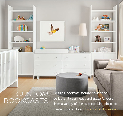 Room Board custom storage bookcases Modern Bookcases Shelves Living Furniture
