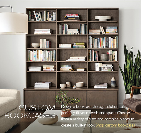 Modern Bookcases & Shelves - Modern Living Room Furniture - Room ...