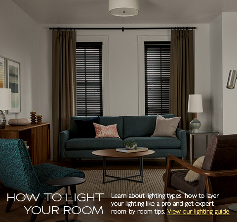 learn lighting types and how to layer lighting - Living Room Ceiling Lights Modern